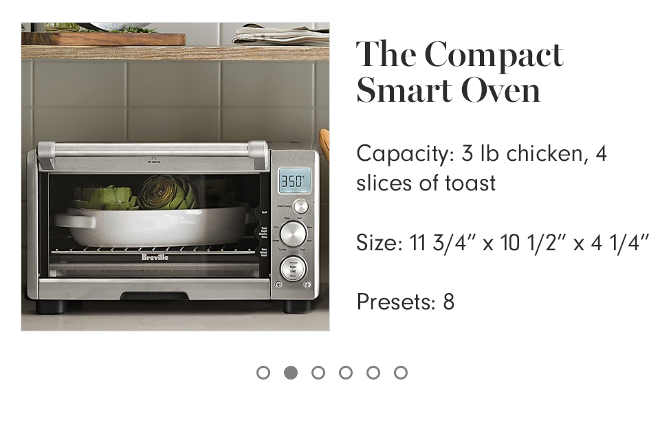 Breville Smart Convection Toaster Oven Air Williams Sonoma