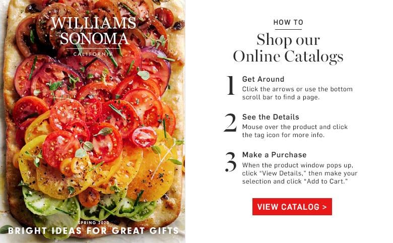 Online Catalogs Williams Sonoma