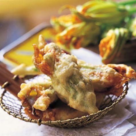 Fiori Di Zucca.Fried Stuffed Zucchini Flowers Fiori Di Zucca Fritti Williams