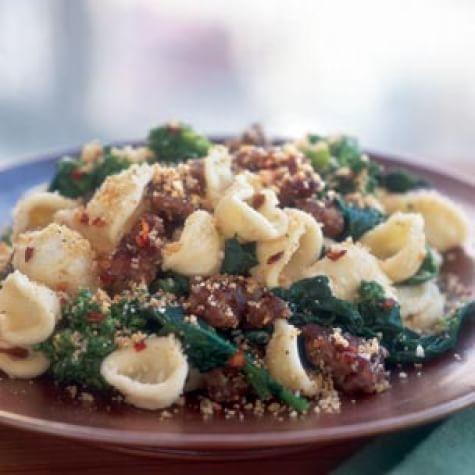 Orecchiette With Broccoli Rabe And Sausage Williams Sonoma