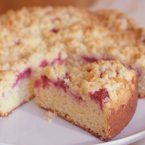 Fresh Raspberry Sour Cream Crumb Cake Williams Sonoma