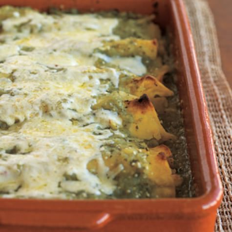 Green Chicken Enchiladas Williams Sonoma