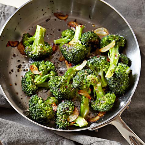 Pan Roasted Broccoli With Garlic Williams Sonoma