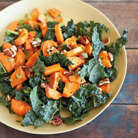 Roasted Sweet Potato Salad With Pecans And Green Onions Williams Sonoma
