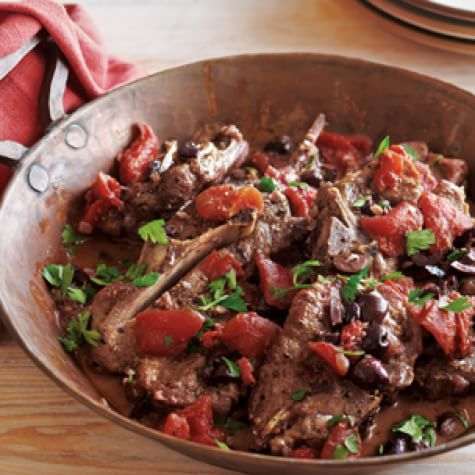 lamb shoulder chop recipe pressure cooker Braised Lamb Shoulder Chops with Tomatoes and Rosemary