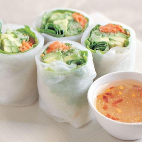 Avocado Salad Roll Recipe