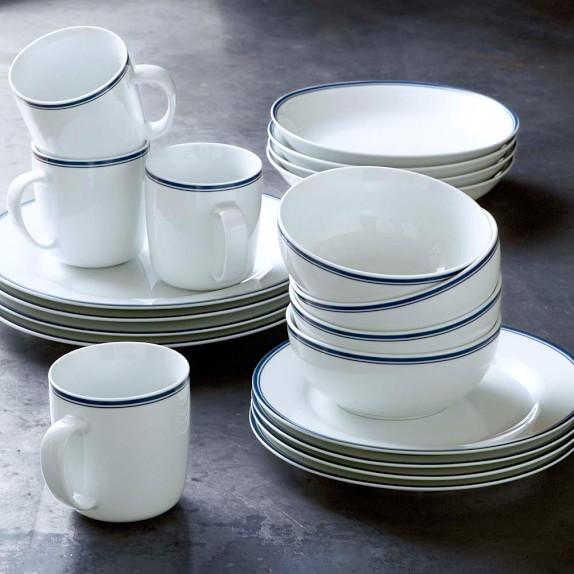 Open Kitchen By Williams Sonoma Blue Bistro Dinnerware Collection
