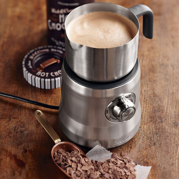Breville BMF600XL Milk Cafe Automatic  Milk Frother in Silver