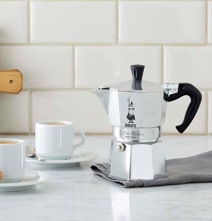 3 cup Espresso Coffee Maker Size