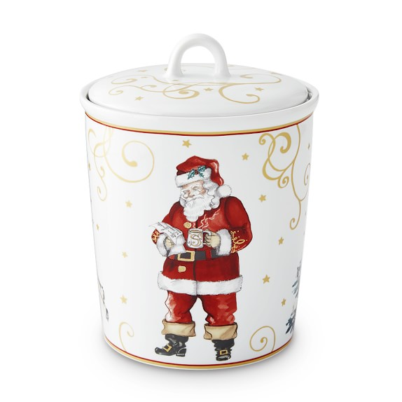 Twas The Night Before Christmas Cookie Jar Williams Sonoma