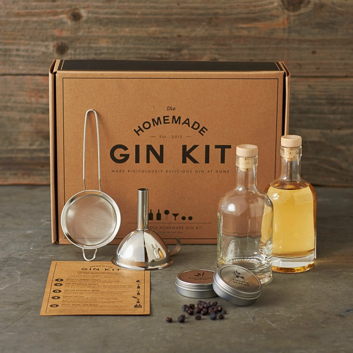 Gin Making Infusion Gift Kit Do Your Gin Cocktail Botanicals Flavored Gin