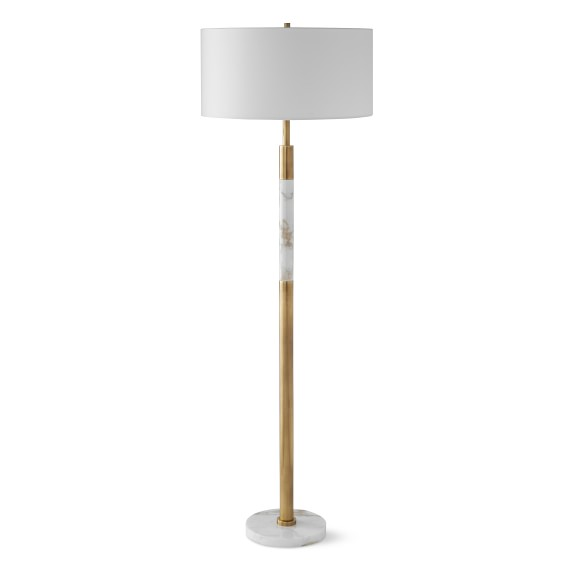 Marble Band Floor Lamp Williams Sonoma