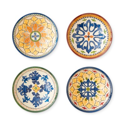 Sicily Outdoor Melamine Small Mixed Dipping Bowls
