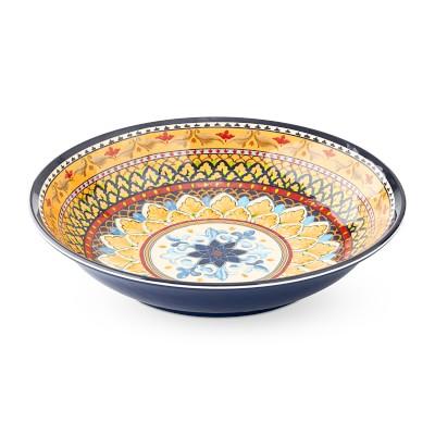 Sicily Outdoor Melamine Serving Bowl