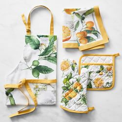 Citron Kitchen Linens Bundle
