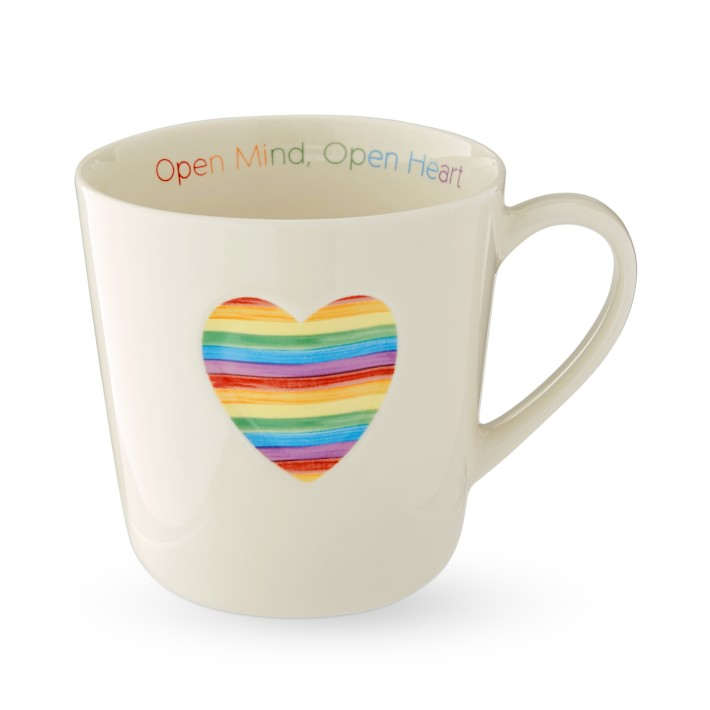 The Trevor Project Heart Mug