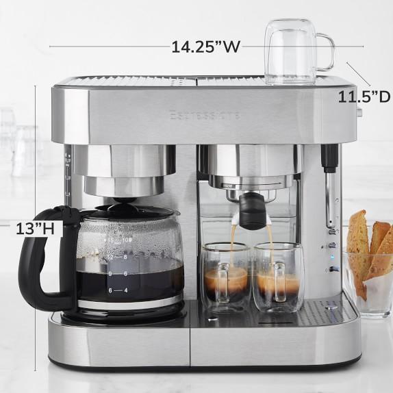 Espressione Stainless Steel Coffee Maker Espresso Machine Williams Sonoma