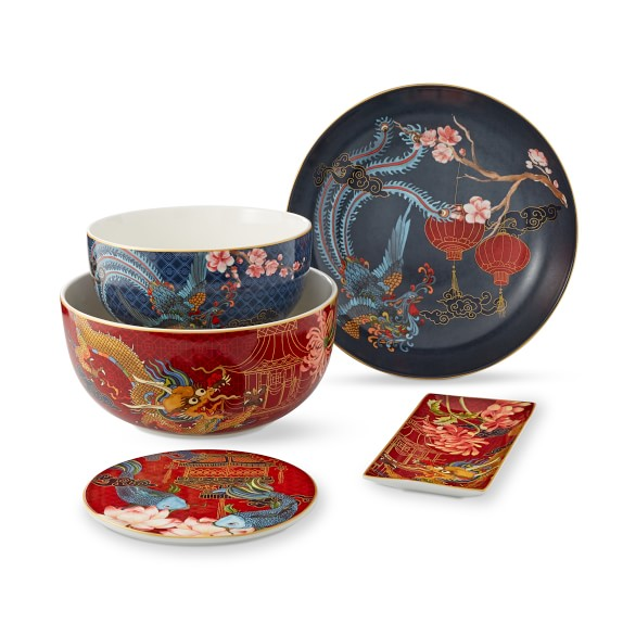 Lunar New Year Mixing Bowls - Set of 2 | Williams Sonoma