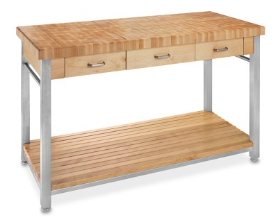 John Boos End Grain Butcher Block Workbench 60