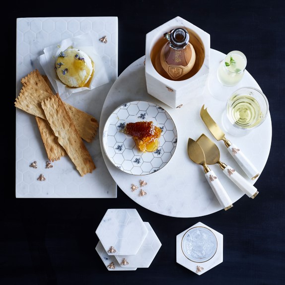 Honeycomb Appetizer Plates Dessert Plates Williams Sonoma