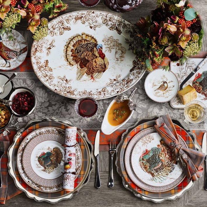 Plymouth Turkey Dinnerware Collection