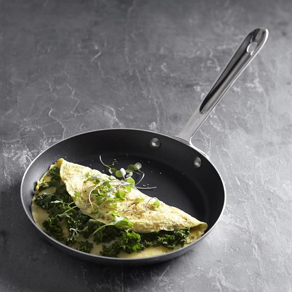 All-Clad D5 Stainless 9-Inch Nonstick Omelette Pan
