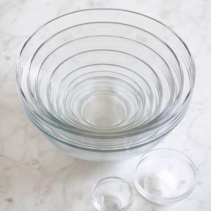 10-Piece Glass Mixing Bowl Set