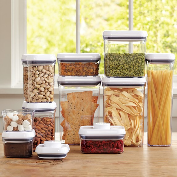 OXO Pop Containers | Kitchen Counter Organizers | Williams Sonoma