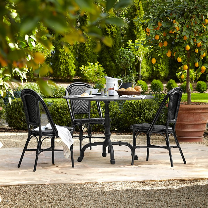La Coupole Round Outdoor Dining Table Williams Sonoma