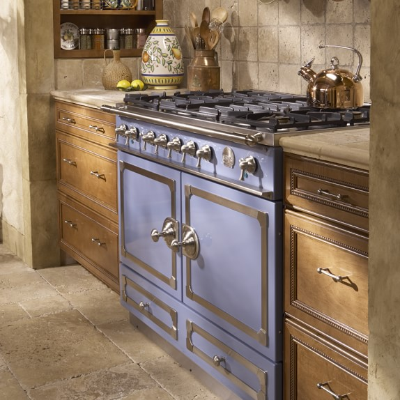 La Cornue Cornufe Provence Blue 110 Range Williams Sonoma