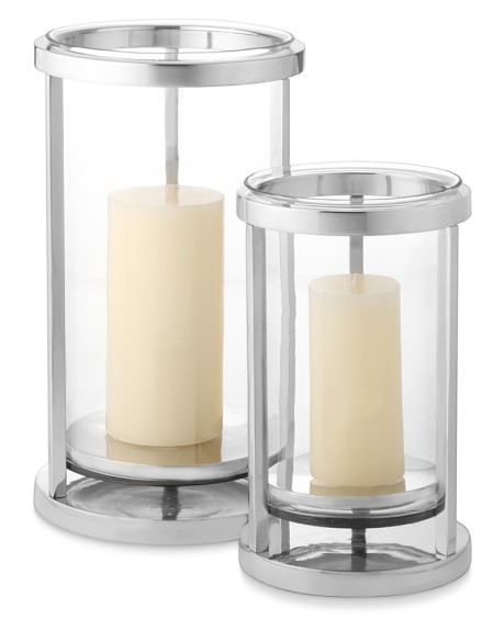 Metal Frame Hurricane Candle Holder Williams Sonoma