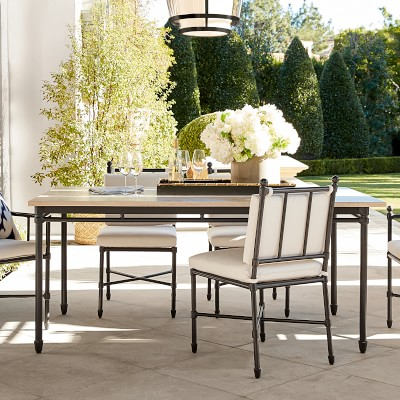 Calistoga Outdoor Dining Table Williams Sonoma
