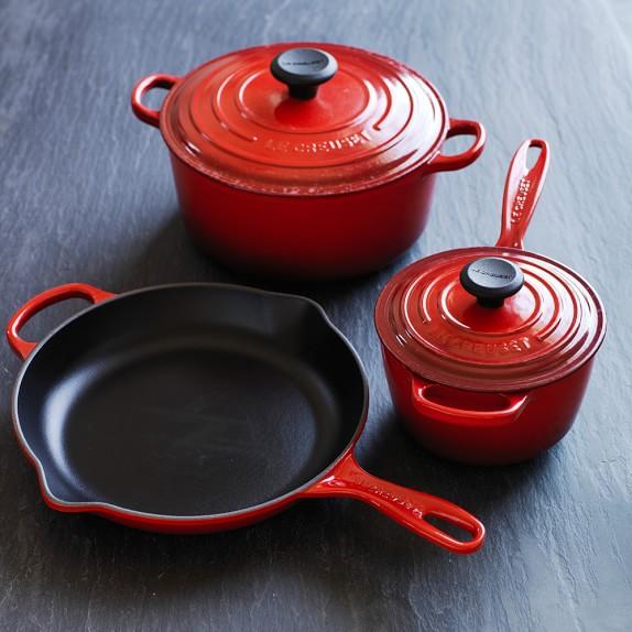 Le Creuset Signature Cast Iron 5 Piece Cookware Set Williams Sonoma