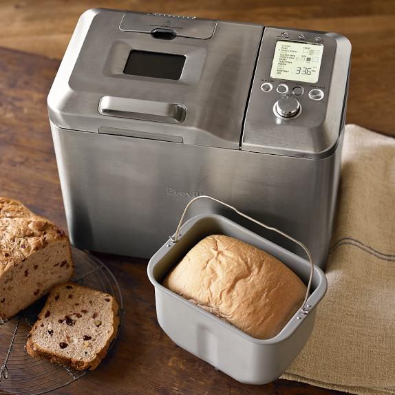 Breville Custom Loaf Bread Maker Williams Sonoma