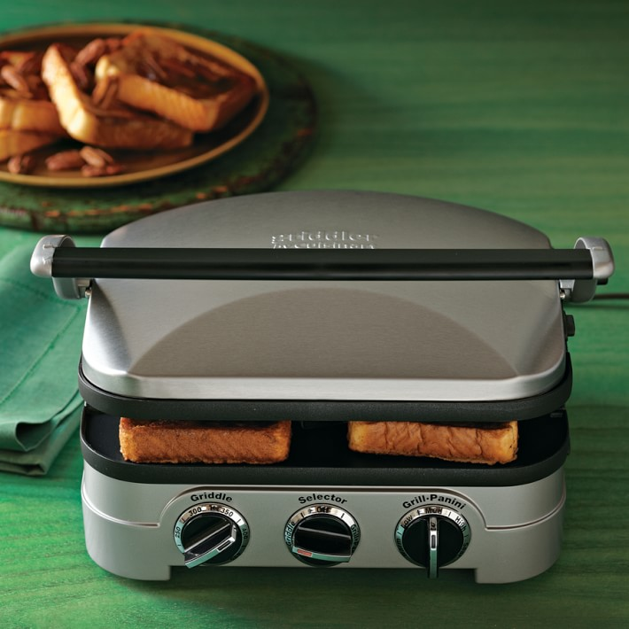 Ships Same Day New Calphalon 5-in-1 Removable Plate Grill