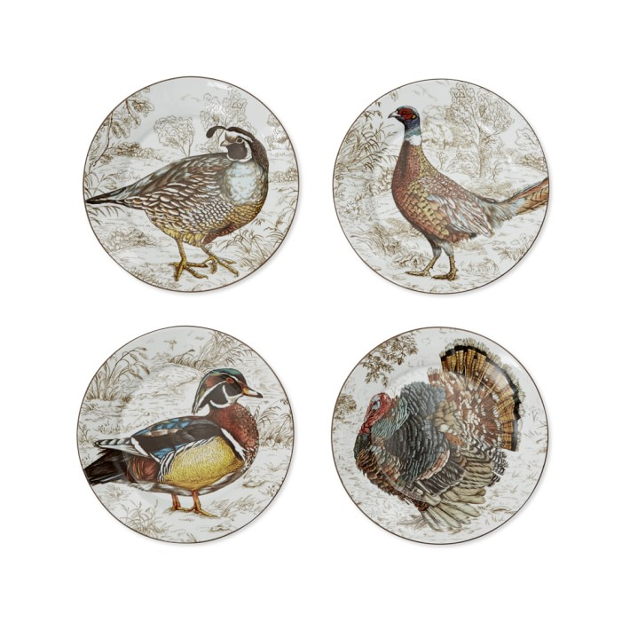 Plymouth Birds Mixed Appetizer Plates