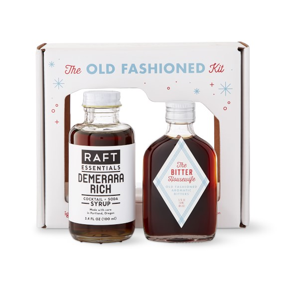 Bitter Housewife Old Fashioned Cocktail Kit Gift Set Williams Sonoma