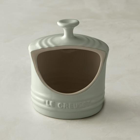 Le Creuset Stoneware 10-Ounce Salt Crock White