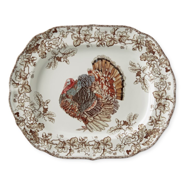 Plymouth Turkey Extra Large Serving Platter