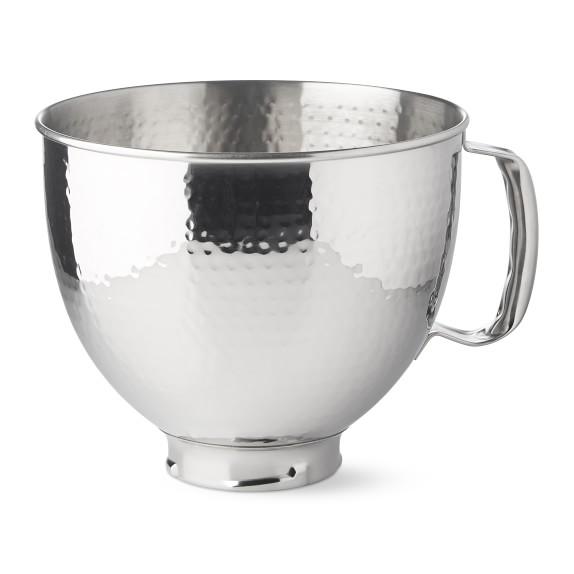 Kitchenaid Attachment 5 Qt Hammered Bowl Williams Sonoma