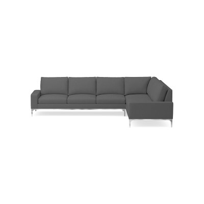 Lucca 2 Piece L Shape Sectional Sofa Williams Sonoma