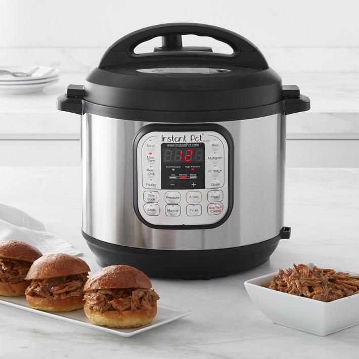 Instant Pot Duo60 7 In 1 Multi Use Programmable Pressure Cooker 6 Qt Williams Sonoma