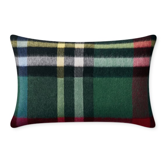 Plaid Lambswool Pillow Cover Williams Sonoma