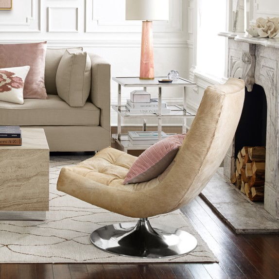 James Swivel Chair Accent Chair Williams Sonoma