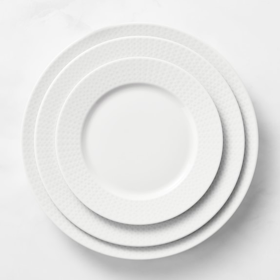 Pillivuyt Perle Charger Plate Williams Sonoma