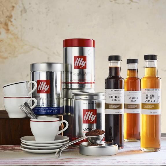 Illy Ground Espresso Classico Coffee Medium Roast Williams Sonoma