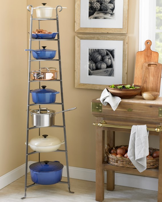 Enclume Signature French Standing Pot Rack Williams Sonoma