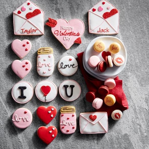 Valentine/'s Day Cookie Box