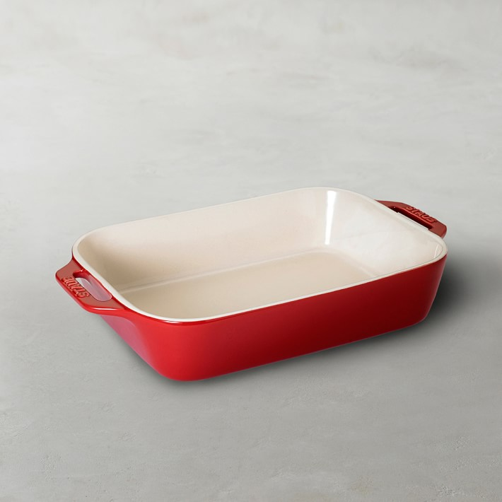 Dishwasher Safe,Dark Blue 11inch Rectangular Porcelain Baking Dish Non-Stick Bakeware for Roasting Casserole Cake Ceramic Loaf Pan for Baking Bread