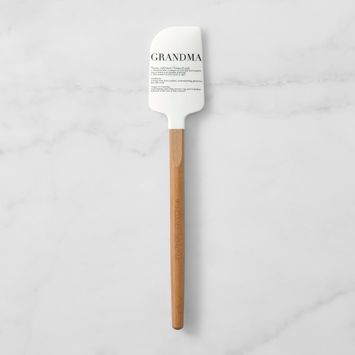 chopping board spatula and oil brush spoon Large personalised baking set makes the perfect chef gift or grandma gift with a custom whisk